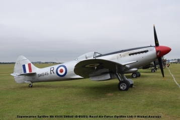DSC_0147 Supermarine Spitfire Mk XVIII SM845 (G-BUOS) Royal Air Force (Spitfire Ltd) © Michel Anciaux