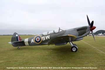 DSC_0158 Supermarine Spitfire Tr-9 PT462 SW-A (G-CTIX) RAF (Aircraft Restoration Company) © Michel Anciaux