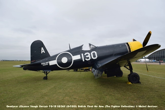 DSC_0202 Goodyear (Chance Vough Corsair FG-1D KD345 (G-FGID) British Fleet Air Arm (The Fighter Collection) © Michel Anciaux