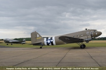 DSC_0211 Douglas C-47A-75-DL 42-100884 ''S6'' (N147DC) USAAF (Aces High Limited) © Michel Anciaux