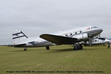 DSC_0217 Douglas DC-3C N877MG Pan American Airways (Historic Flight Foundation) © Michel Anciaux
