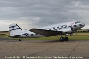 DSC_0218 Douglas DC-3C N877MG Pan American Airways (Historic Flight Foundation) © Michel Anciaux