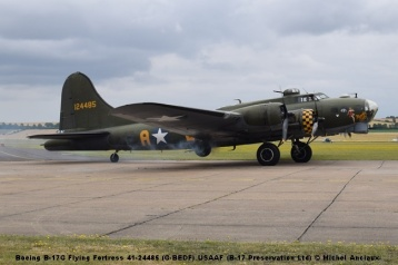 DSC_0226 Boeing B-17G Flying Fortress 41-24485 (G-BEDF) USAAF (B-17 Preservation Ltd) © Michel Anciaux