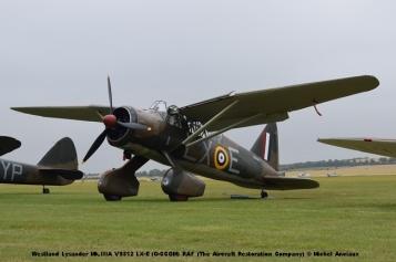 DSC_0364 Westland Lysander Mk.IIIA V9312 LX-E (G-CCOM) RAF (The Aircraft Restoration Company) © Michel Anciaux
