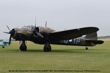 DSC_0369 Bristol Blenheim Mk.I L6739 YP-Q (G-BPIV) RAF (Aircraft Restoration Company) © Michel Anciaux