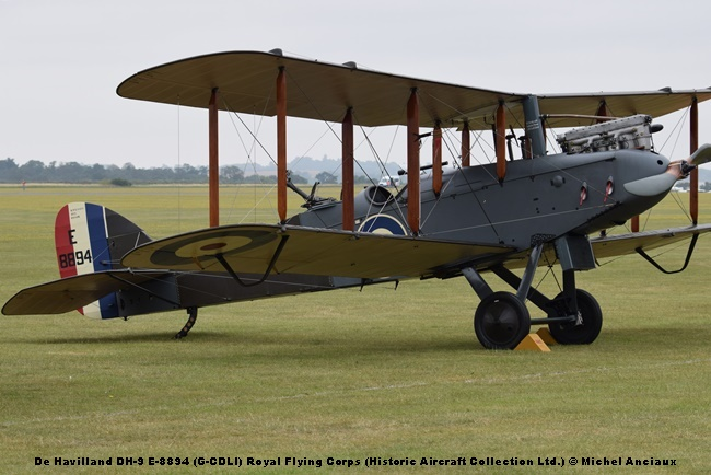 DSC_0369 De Havilland DH-9 E-8894 (G-CDLI) Royal Flying Corps (Historic Aircraft Collection Ltd.) © Michel Anciaux