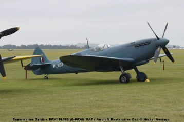 DSC_0403 Supermarine Spitfire PRXI PL983 (G-PRXI) RAF ( Aircraft Restoration Co.) © Michel Anciaux
