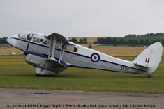DSC_0505 De Havilland DH-89A Dragon Rapide 6 TX310 (G-AIDL) RAF (Cirrus Aviation Ltd) © Michel Anciaux
