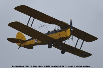DSC_0507 De Havilland DH.82A Tiger Moth R-4959 (G-ARAZ) RAF (Private) © Michel Anciaux