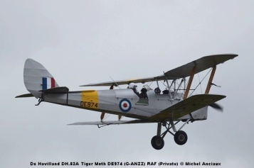 DSC_0508 De Havilland DH.82A Tiger Moth DE974 (G-ANZZ) RAF (Private) © Michel Anciaux