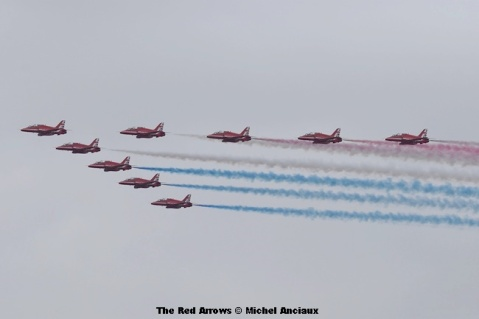 DSC_0738 The Red Arrows © Michel Anciaux