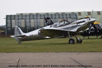 DSC_0752 Supermarine Spitfire LF.IXc G-IRTY (MJ271) Boultbee Flight Academy © Michel Anciaux