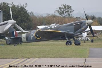 DSC_0753 Supermarine Spitfire Mk.IX TD314 FX-P (G-CGYJ) RAF (Aero Legends) © Michel Anciaux