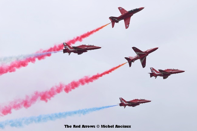 DSC_1102 The Red Arrows © Michel Anciaux