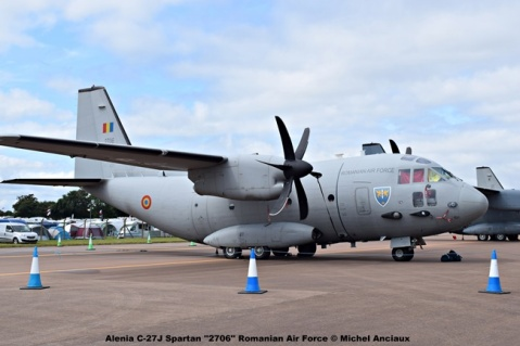 DSC_01397 Alenia C-27J Spartan ''2706'' Romanian Air Force © Michel Anciaux