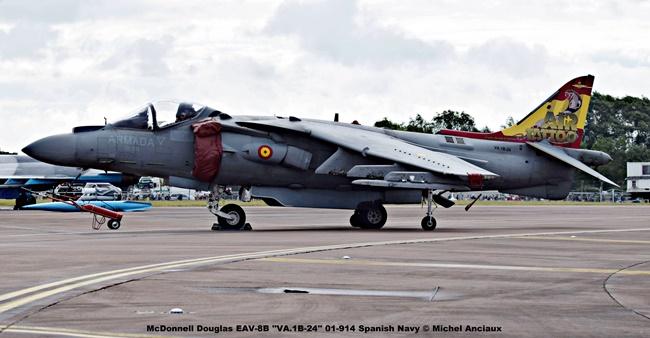 DSC_0399 McDonnell Douglas EAV-8B ''VA.1B-24'' 01-914 Spanish Navy © Michel Anciaux