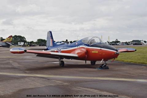 DSC_0400 BAC Jet Provos T.5 XW325 (G-BWGF) RAF (G-JPVA Ltd) © Michel Anciaux