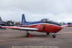 DSC_0446 BAC Jet Provos T.3 XN637 (G-BKOU) RAF (G-BKOU 2 Ltd) © Michel Anciaux