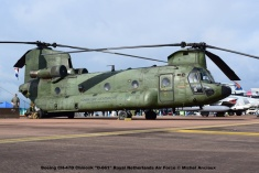 DSC_0488 Boeing CH-47D Chinook ''D-661'' Royal Netherlands Air Force © Michel Anciaux