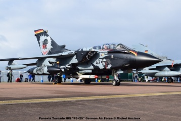 DSC_0495 Panavia Tornado IDS ''43+25'' German Air Force © Michel Anciaux