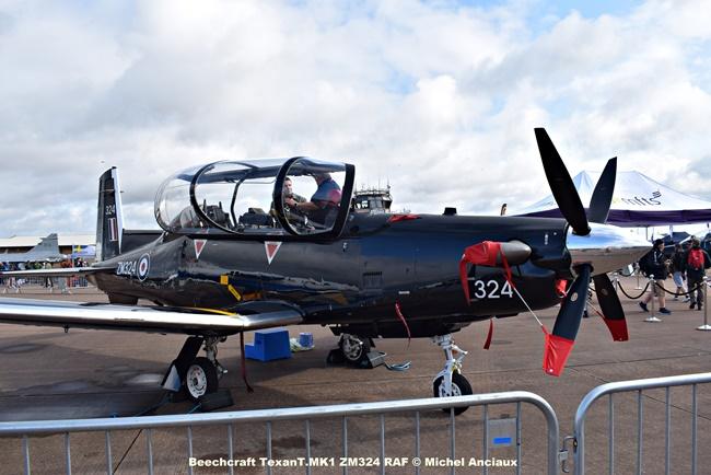 DSC_0542 Beechcraft TexanT.MK1 ZM324 RAF © Michel Anciaux