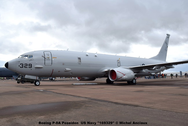 DSC_0577 Boeing P-8A Poseidon US Navy ''169329'' © Michel Anciaux