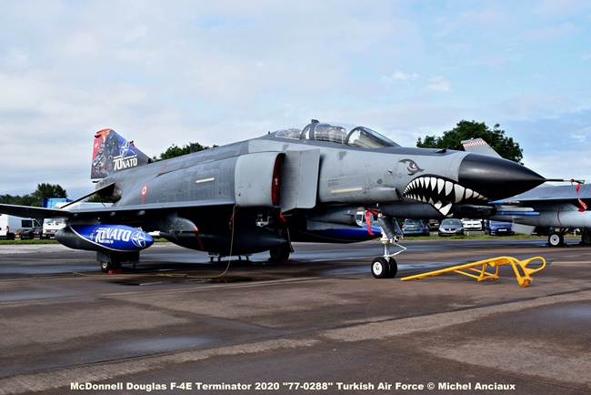 DSC_0614 McDonnell Douglas F-4E Terminator 2020 ''77-0288'' Turkish Air Force © Michel Anciaux