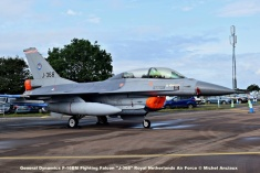 DSC_0615 General Dynamics F-16BM Fighting Falcon ''J-368'' Royal Netherlands Air Force © Michel Anciaux
