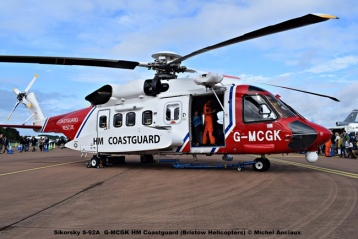 DSC_0619 Sikorsky S-92A G-MCGK HM Coastguard (Bristow Helicopters) © Michel Anciaux