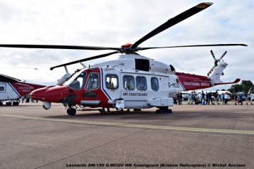DSC_0621 Leonardo AW-189 G-MCGU HM Coastguard (Bristow Helicopters) © Michel Anciaux
