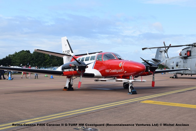 DSC_0623 Reims-Cessna F406 Caravan II G-TURF HM Coastguard (Reconnaissance Ventures Ltd) © Michel Anciaux