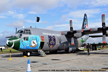DSC_0663 Lockheed C-130E Hercules ''766'' Pakistan Air Force © Michel Anciaux