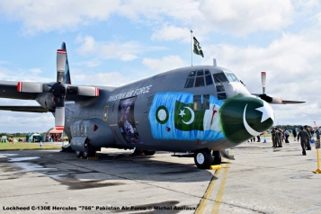 DSC_0664 Lockheed C-130E Hercules ''766'' Pakistan Air Force © Michel Anciaux