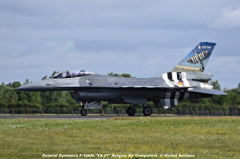DSC_1047 General Dynamics F-16AM ''FA-57'' Belgian Air Component © Michel Anciaux