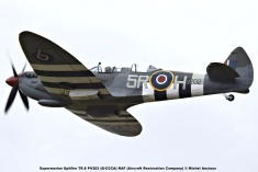 DSC_1224 Supermarine Spitfire TR.9 PV202 (G-CCCA) RAF (Aircraft Restoration Company) © Michel Anciaux