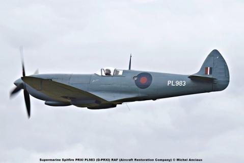 DSC_1234 Supermarine Spitfire PRXI PL983 (G-PRXI) RAF (Aircraft Restoration Company) © Michel Anciaux