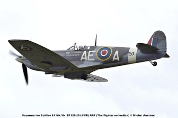 DSC_1238 Supermarine Spitfire LF Mk.Vb EP120 (G-LFVB) RAF (The Fighter collection) © Michel Anciaux