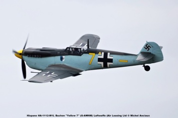 DSC_1287 Hispano HA-1112-M1L Buchon ''Yellow 7'' (G-AWHM) Luftwaffe (Air Leasing Ltd