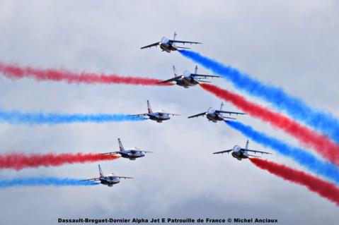 DSC_1343 Dassault-Breguet-Dornier Alpha Jet E Patrouille de France © Michel Anciaux