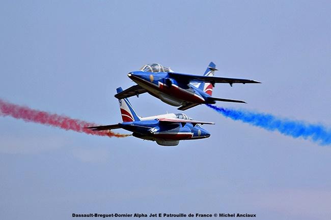 DSC_1362 Dassault-Breguet-Dornier Alpha Jet E Patrouille de France © Michel Anciaux