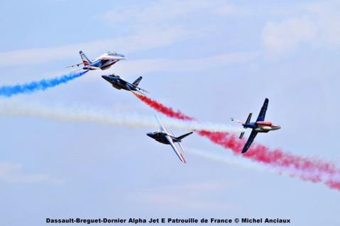 DSC_1365 Dassault-Breguet-Dornier Alpha Jet E Patrouille de France © Michel Anciaux