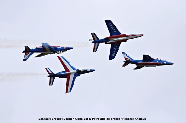 DSC_1379 Dassault-Breguet-Dornier Alpha Jet E Patrouille de France © Michel Anciaux