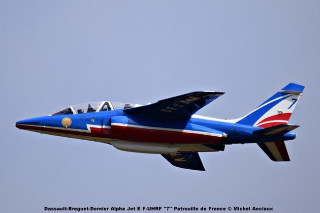 DSC_1384 Dassault-Breguet-Dornier Alpha Jet E F-UHRF ''7'' Patrouille de France © Michel Anciaux