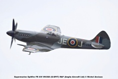 DSC_1396 Supermarine Spitfire FR XIV MV268 (G-SPIT) RAF (Anglia Aircraft Ltd) © Michel Anciaux