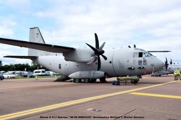 DSC_1404 Alenia C-27J Spartan ''46-90 MM62225'' Aeronautica Militare © Michel Anciaux
