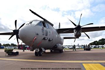DSC_1405 Alenia C-27J Spartan ''46-90 MM62225'' Aeronautica Militare © Michel Anciaux
