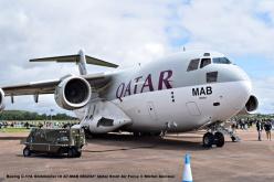 DSC_1427 Boeing C-17A Globmaster III A7-MAB 080202'' Qatar Emiri Air Force © Michel Anciaux