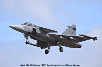 DSC_1550 Saab JAS-39C Gripen ''268'' Swedish Air Force © Michel Anciaux