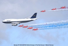 DSC_1595 Boeing 747-436 G-BYGC British Airways & The Red Arrows © Michel Anciaux