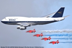 DSC_1597 Boeing 747-436 G-BYGC British Airways & The Red Arrows © Michel Anciaux